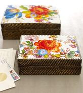 Mackenzie Childs MacKenzie-Childs flower market stationery box