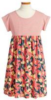Tea Collection Toddler Girl's Adelaide Mix Print Dress