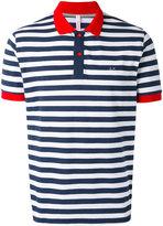 Sun 68 striped polo shirt - men - Cotton/Spandex/Elastane - M