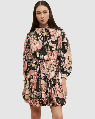 Ginger & Smart Floral Charts Dress