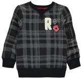 George Textured Letter Appliqué Sweatshirt