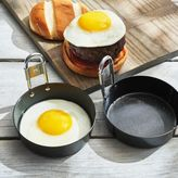 Sur La Table Nonstick Egg Boat Mini Skillets, Set of 2