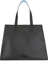 Kenzo Large tiger pattern leather tote