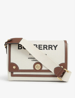 Burberry Hackberry medium canvas cross-body bag
