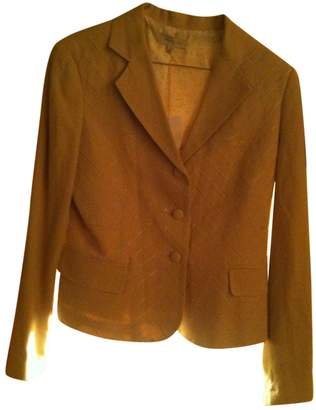 Ventilo Armand Beige Silk Jacket for Women