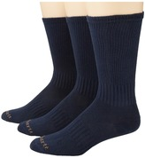 Carhartt Work Wear Flat-Knit Crew Socks 3-Pack