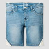 Cat & Jack Girls' Jean Shorts Cat & Jack - Light Denim