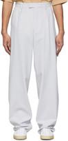 Joseph Grey Techno Wool Stretch Byrne Trousers
