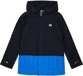 Armani Junior Waterproof Cotton-blend Coat 4-10 Years