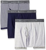 Beverly Hills Polo Club Men's 3 Pack Fashion Boxer Brief