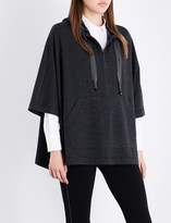 Brunello Cucinelli Embellished cashmere poncho