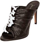 Jean-Michel Cazabat Jean Michel Cazabat 95mm Ortensia Nappa Leather Mule Sandals