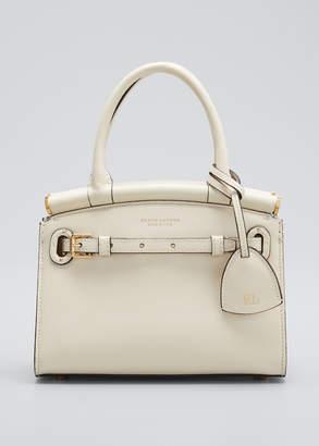 Ralph Lauren RL 50 Mini Soft Luxe Leather Satchel Bag