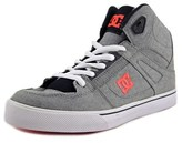 DC Spartan High Round Toe Canvas Sneakers.