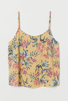 H&M Patterned strappy top
