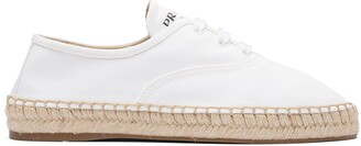 Prada Gabardine Lace-Up Shoes