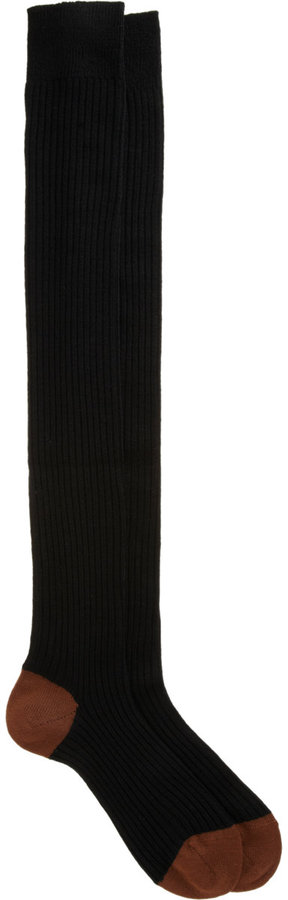 Maria La Rosa Thigh Sock
