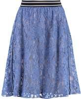 InWear INGRIT Aline skirt blue dutch