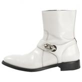 Balenciaga Grey Leather Boots