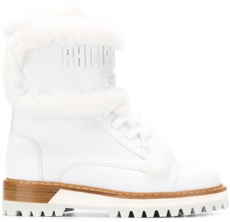 Philipp Plein 1978 Ridged Sole Boots