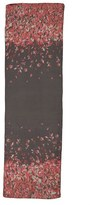 St. John Women's Black Flamingo Degrade Print Scarf