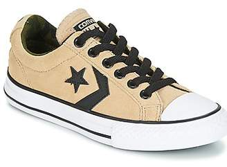 Converse Star Player EV Ox Camo Suede - TD boys's Shoes (Trainers) in Beige