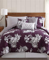 Pem America Peony Garden Floral 12-Pc. Queen Bed Ensemble