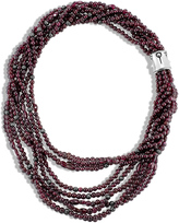 John Hardy Bead Necklace with Garnet