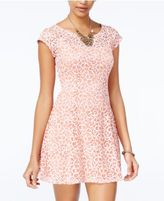 Be Bop Juniors' Bow-Back Swirl Dress