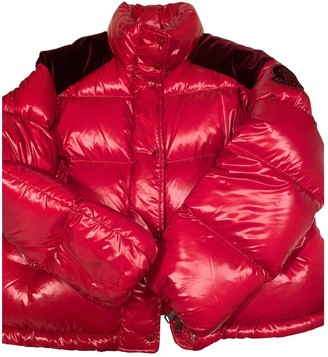 Valextra Moncler Genius Moncler n2 1952 + Red Polyester Coats