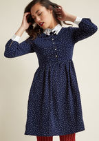 Miss Patina I'm Only Prancing Long Sleeve Dress in L