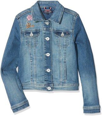 Tommy Hilfiger Girl's S Trucker Jacket Nembst