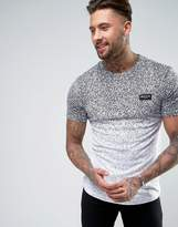 Nicce London T-shirt With Faded Speckle Print