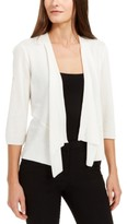 Alfani Draped Open-Front Cardigan, Created For Macy's