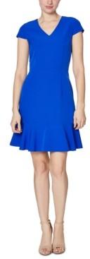 Betsey Johnson Ruffle-Hem Dress