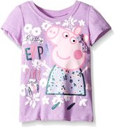 Peppa Pig Little Girls' Flower Tee