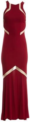 Galvan Burgundy Dress for Women