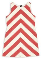 Milly Little Girl's & Girl's Striped Cotton Shift Dress