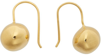Sophie Buhai Gold Simple Ball Drop Earrings
