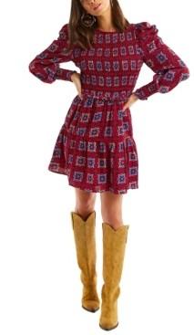 Allison New York Women's Smocked Kaleidoscope Dress