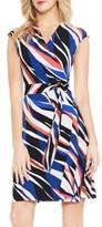 Vince Camuto Women's Graphic Zebra Wrap Dress