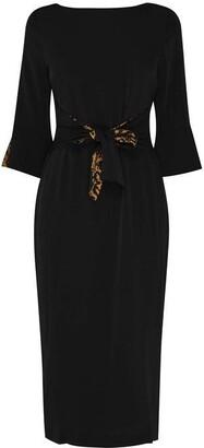 Biba Tie Midi Dress