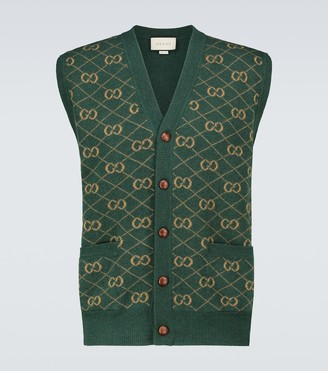 Gucci GG wool vest