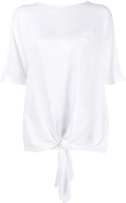 Fabiana Filippi knotted T-shirt
