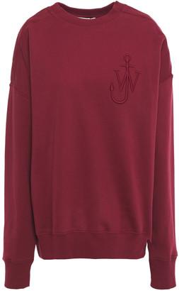 J.W.Anderson Embroidered Cotton-fleece Sweatshirt