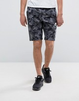 Nike Camo Print Shorts In Black 831869-010