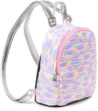 Capelli of New York Flip Sequin Backpack