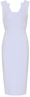 Roland Mouret Coleby crApe dress