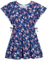 Splendid Girls' Floral Flutter-Sleeve Dress - Little Kid