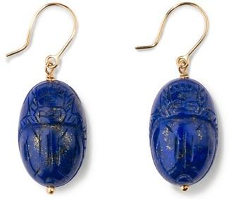 Aurelie Bidermann Lapis lazuli earrings